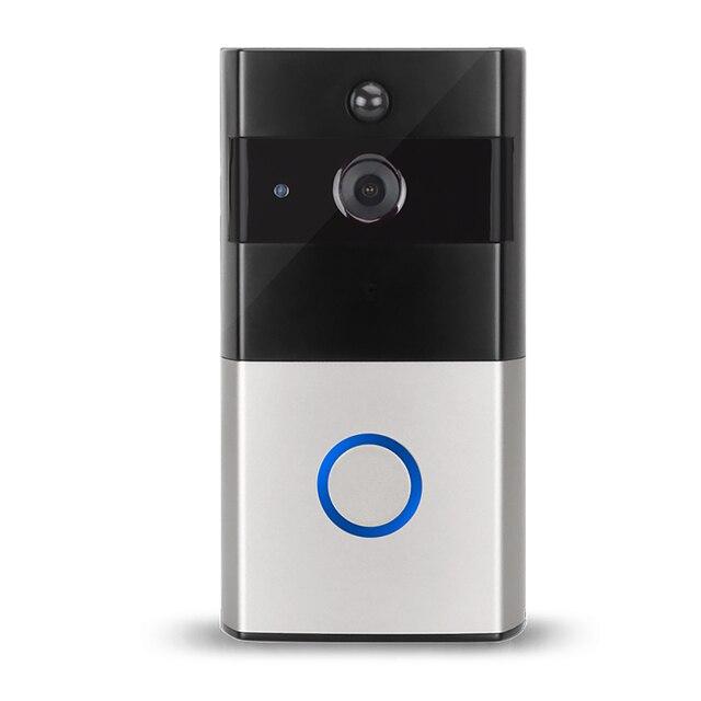 US $51 0 15% OFF|WIFI video doorbell camera wireless home intercom system  ip doorbell alarm information push support IOS & Android system-in Doorbell