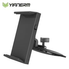 Yianerm CD Slot Tablet Auto Telefon Halter Für iPhone, Für iPad mini, Air 1/2, 9,7 Pro Unterstützung, Android Tablet, 7 10,1 Halterung Ständer