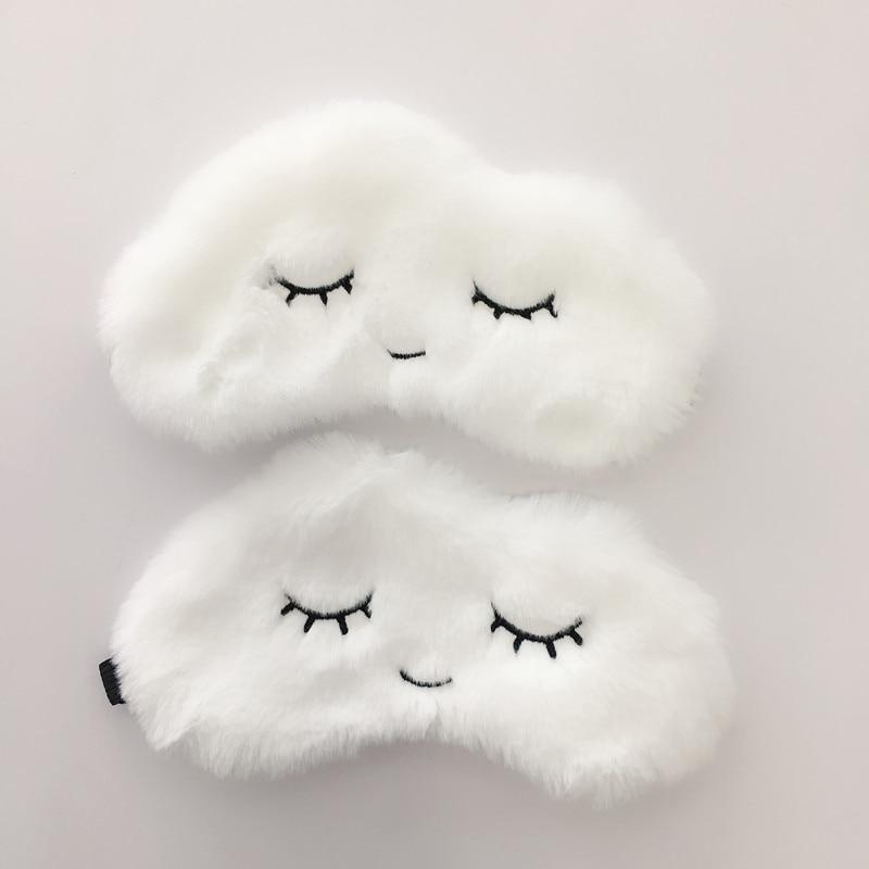 Cartoon Sleeping Eye Mask Cloud Eye Mask Eyelash