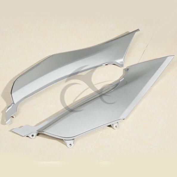 Gray Left & Right Mid Frame Cover Fairing For Honda Goldwing GL1800 2012-2015 motorcycle goldwing chrome fairing right or left lower rear frame cover for honda gl1800 2001 2016 02 03 04 05 06 matte black