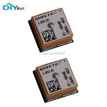 2 개/몫 diymall quectel L80 R 컴팩트 gps 모듈 수집 및 추적 용 패치 안테나와 통합