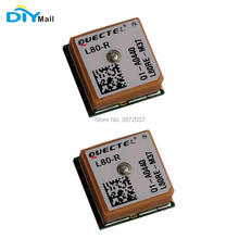 2pcs/lot DIYmall Quectel L80 R Compact GPS Module Integrated with Patch Antenna for Acquisition and Tracking