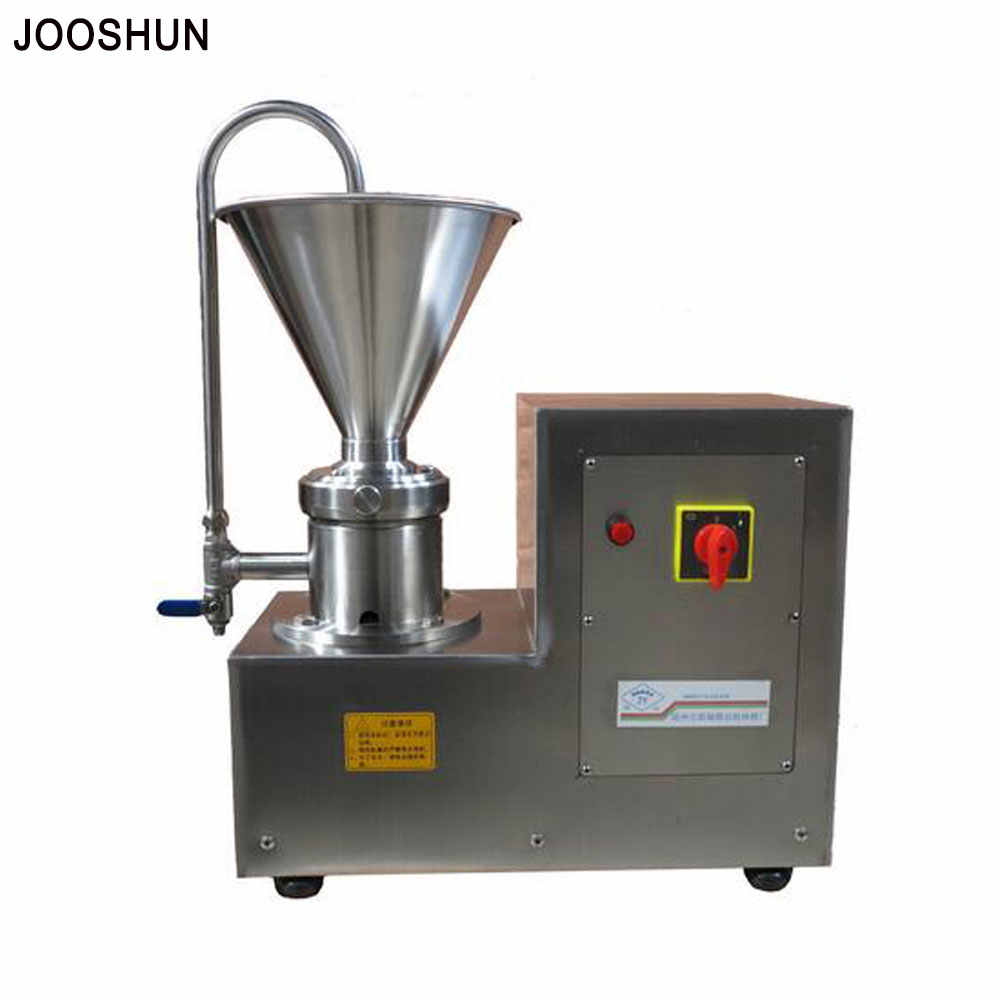Stainless steel soak peanut almond nuts grinding machine Small Split Colloid Mill Hygienic grinding Refiner 750W 220v 110v
