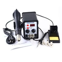 YOUYUE 8586 AC 110V 220V 700W 2 In 1 SMD Rework Soldering Station Hot Air Gun