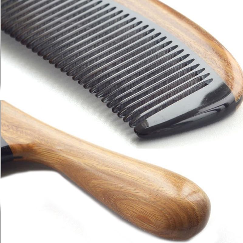 2016 m. Natūralaus jaučio rago sandalmedžio šukos, pagamintos - Plaukų priežiūra ir stilius - Nuotrauka 5