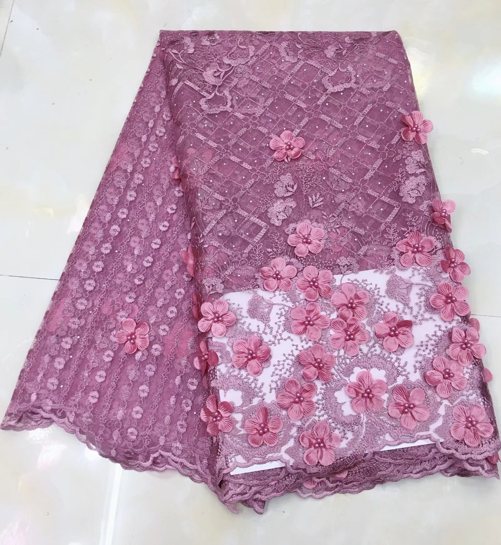 2019 Latest Nigerian Laces Fabrics High Quality African Laces Fabric For Wedding Dress French Tulle Lace2019 Latest Nigerian Laces Fabrics High Quality African Laces Fabric For Wedding Dress French Tulle Lace