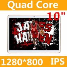10 дюймов Оригинальный 3 Г Телефонный Звонок СИМ-карты Android 5.1 Quad Core CE Марка Wi-Fi GPS FM Tablet pc 2 ГБ + 32 ГБ ROM Anroid 5.1 Tablet пк
