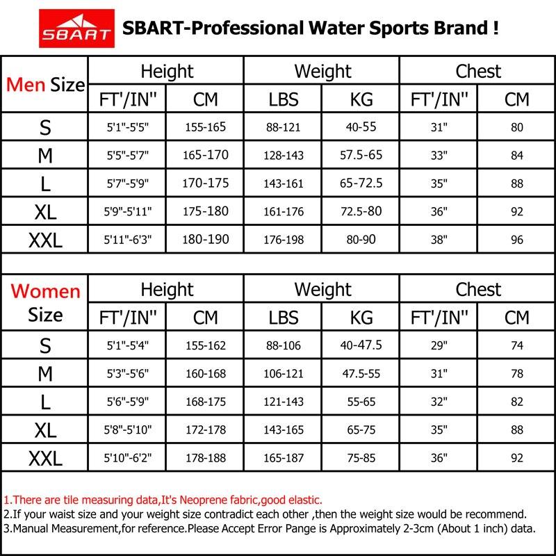 SBART Neue 2 MM UPF50 Neopren Kurzarm Neoprenanzug Männer Frauen - Sportbekleidung und Accessoires - Foto 5
