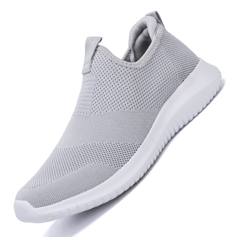 HTB1BV1lL4YaK1RjSZFnq6y80pXaG 2019 Spring Men Shoes Slip On Men Casual Shoes Lightweight Comfortable Breathable Couple Walking Sneakers Feminino Zapatos
