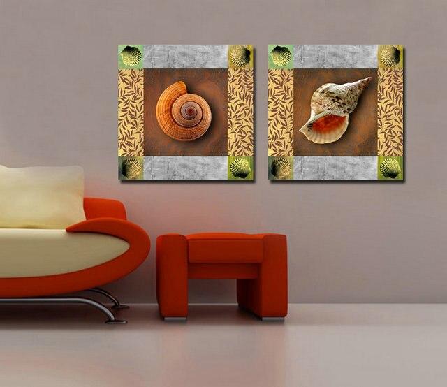 ①2 Panel moderno impreso animal pintura cuadros decoracion el ...