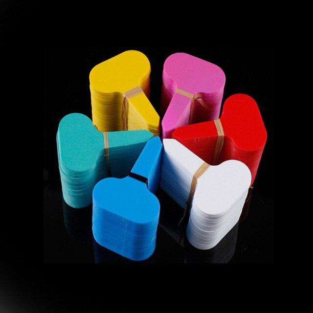30 pcs di Plastica Molti colori T-tipo di scuola materna piante Etichette vaso d