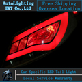 Opción de envío luces traseras Led Lámpara De Cola de Hyundai Solaris Verna Accent led drl de la luz trasera luz trasera de señal + freno inversa +