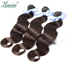 ILARIA HAIR Malaysian Body Wave Virgin Hair Bundles Deal 100% Malaysian Human Hair Weave Bundles Natural Color Top Quality 3(China)