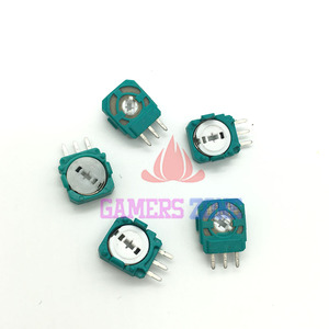 Image 2 - 100PCS For PS4 Joystick Axis Analog Sensor Green Part Module Micro Switch for Playstation4 PS4 Controller