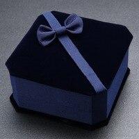 Square Empty Special Velet Display Storage Box Case Jewelry Packing Box Bangle Bracelet Box Case Box