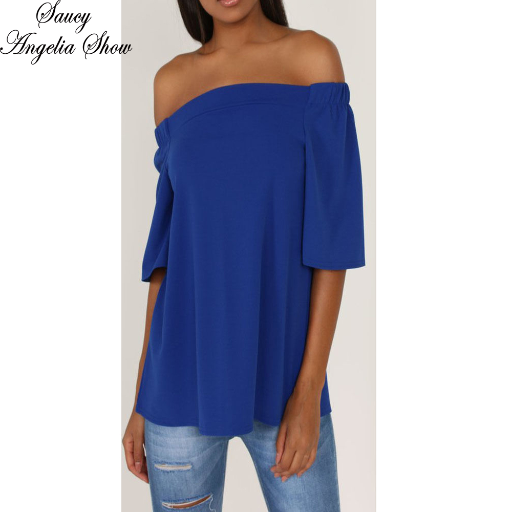 Compare Prices on Royal Blue Shirt Women- Online Shopping/Buy Low ...