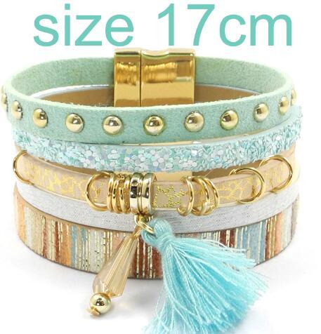 blue size 17CM