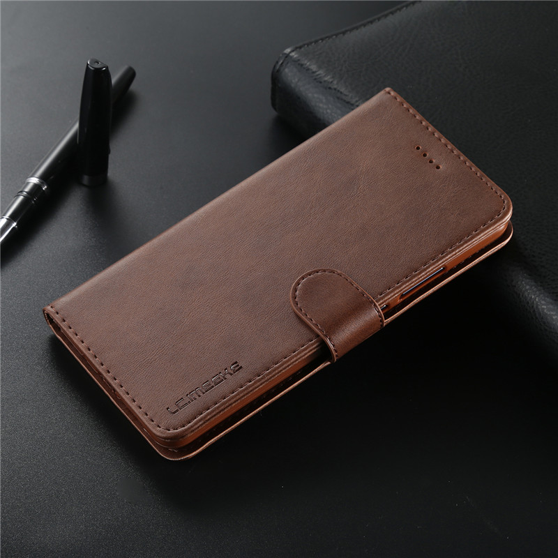 For Samsung Galaxy J4 2018 Case Leather Vintage Phone Case On Samsung J4 Plus Case Flip Wallet Case For Samsung J4Plus Cover Bag