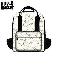 Оттенок мастер легкая женская сумка Японский и корейский стиль рюкзак Cube Книга сумка ретро орангутанг Mochila
