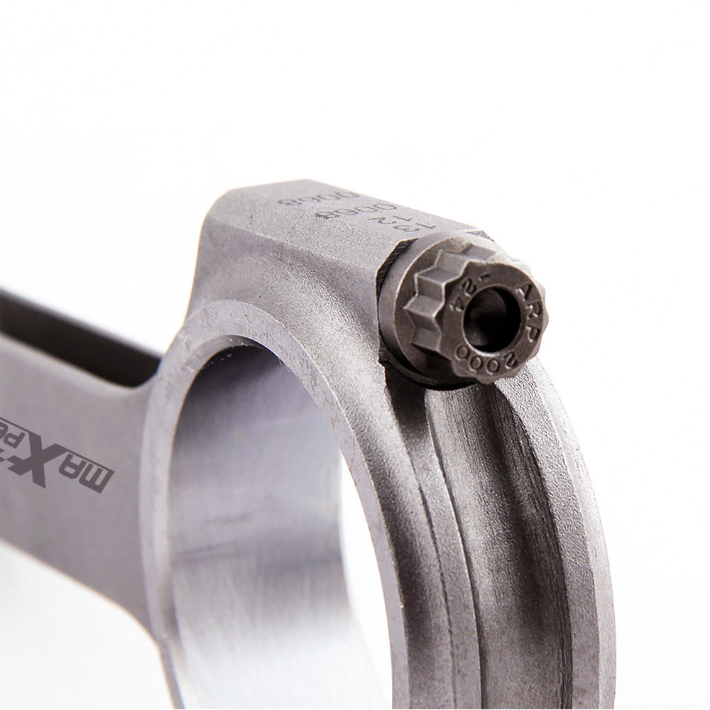 Connecting Rod Rods for Ford Cosworth YB Sierra Escort 128.55mm ARP 2000 Balanced Floating Balanced Cranks 4340 H Beam EN24