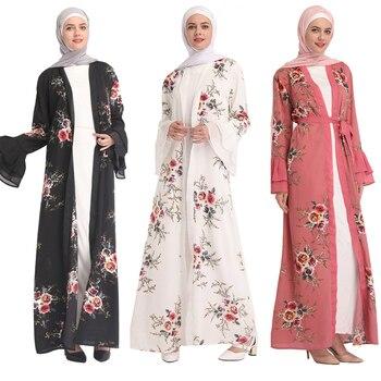 ee701e685cd376e Product Offer. Шифоновый кафтан Абаи Турции мусульманский хиджаб платье ...