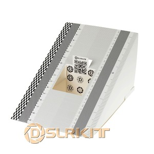 Image 1 - Herramienta de concentración de lentes de tarjeta plegable, alineación de calibración AF, Micro Tabla de reglas de ajuste