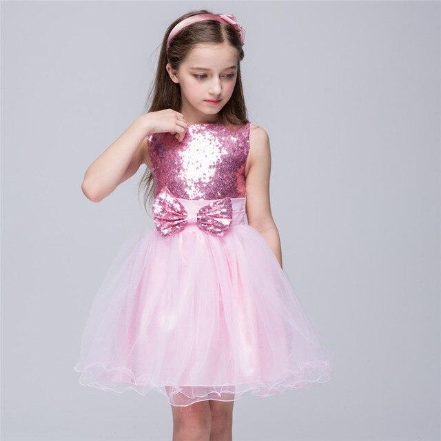 Kinderkleidung Große Bowknot Kleid Hohe Qualität Baby Mädchen Kleid ...