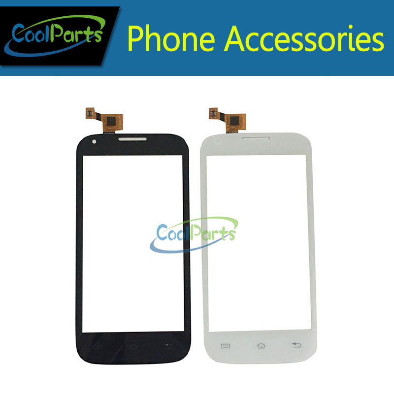 10PC/Lot High Quality 4.5 For Fly IQ4406 IQ 4406 ERA Nano 6 Touch Screen Digitizer Touch Panel Lens Glass Black White Color