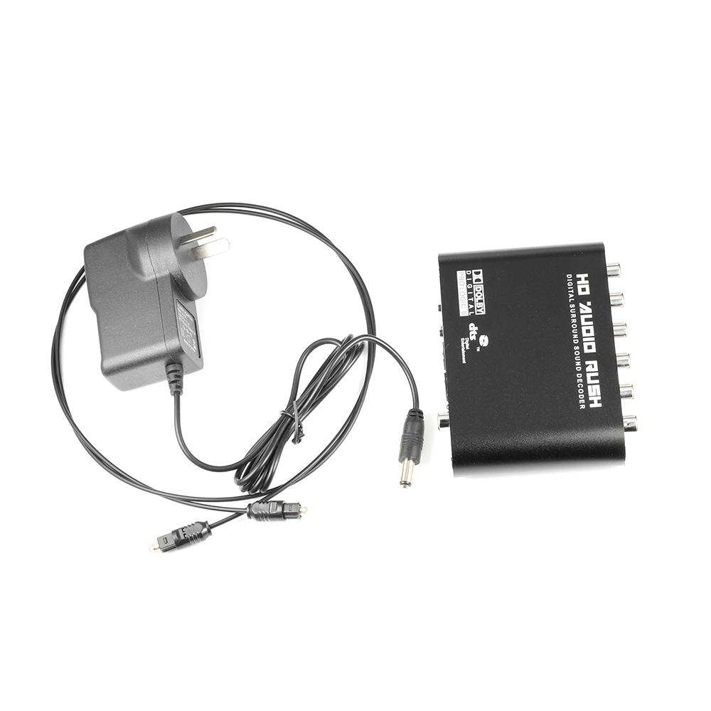 Digital-analog-wandler Hilfreich Optische Spdif 3,5 Aux Koaxial Digital Zu Analog 6 Rca Hd Audio Rausch 5,1 Decoder Ac3 Dts Dolby Surround Sound Verstärker Konverter