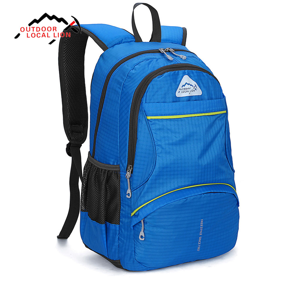 LOCAL LION 20L Outdoor Backpack Climbing Rucksack Camping Cycling Bag Waterproof Mountaineering Hiking Backpacks Sport knapsack