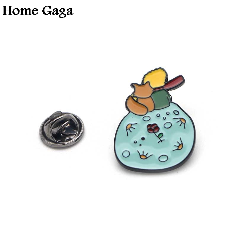 D0396 Homegaga Enamel Brooches Pins Pendant for DIY Sweater Pin Badges Gift Jewelry for Men Women Girl Kids