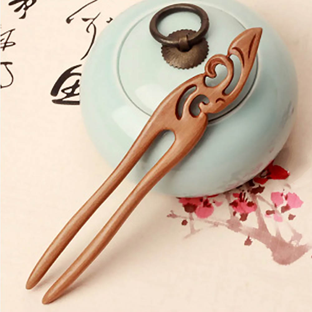 2x Ancient Chinese Bridal Hair Comb Insert Clip Slide Pins Fancy Dress Party