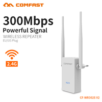 6 ADET COMFAST 300 mbps Kablosuz Wifi Router Tekrarlayıcı 2.4 Ghz 2 * 5dbi Anten Ile 802.11n Router Inşa çift Çip AB ABD Plug