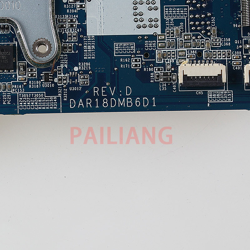 PAILIANG Laptop motherboard for HP G4 G6 G7 PC Mainboard HM55 655985 001 DAR18DMB6D1 tesed DDR3 - 4