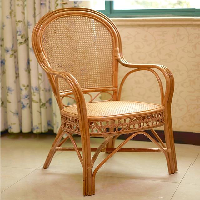 Pas cher indon sie vieille chaise en osier chaise de bureau chaise chaise chaise d 39 ordinateur - Chaise en rotin pas cher ...