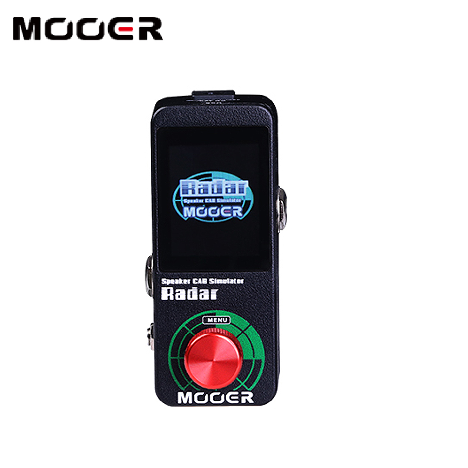 MOOER Radar full-optional altoparlante professionale simulatore di 11 modelli di mic 4 amplificatore di potenza
