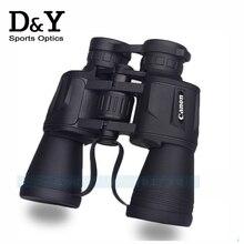 Canon 20×50 BAK4 бинокли телескопы водонепроницаемый Высокой мощности высокой четкости Оптический открытый охота Бинокулярный телескоп DYB019
