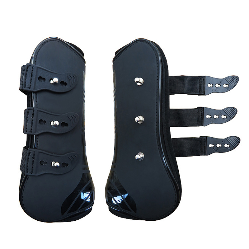 Neoprene Horse Exercise Jumping Brushing Support Protection Tendon Boots Full Size Front /Back Foot