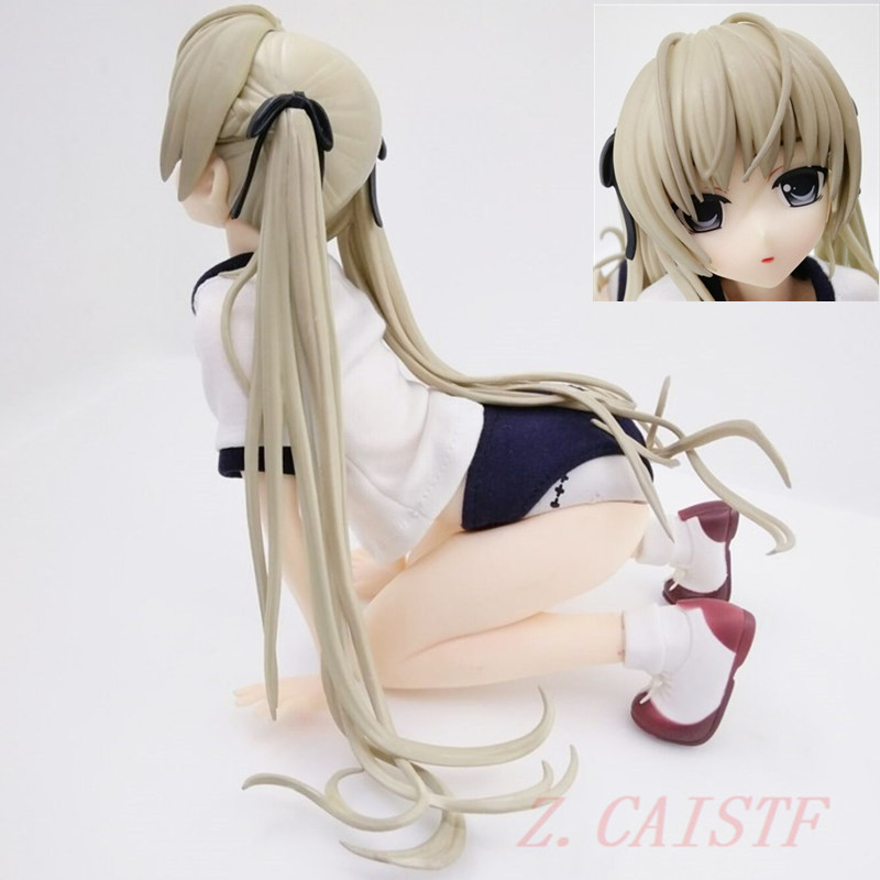 In solitude Anime Figure Kasugano Sora Gymnastics Clothing <font><b>1/4</b></font> Beautiful <font><b>Sexy</b></font> Girl PVC Collection Model Toys Y873 image
