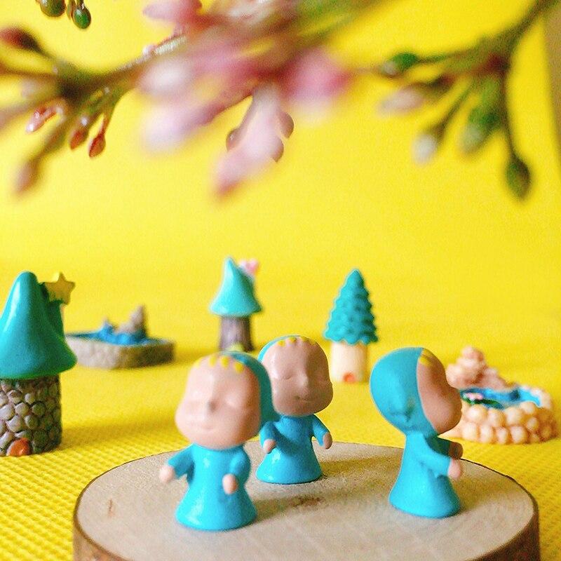 Miniature Dollhouse FAIRY GARDEN Accessories ~ Mini Gnome Figurine w Mushrooms
