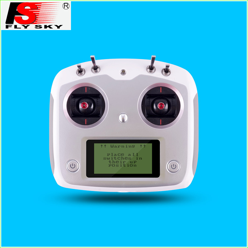1 Set Flysky FS-i6S 2.4G 6CH AFHDS Transmitter With FS-iA10B Receiver Remote Control For Eachine Racer 250 Quadcopter Airplane