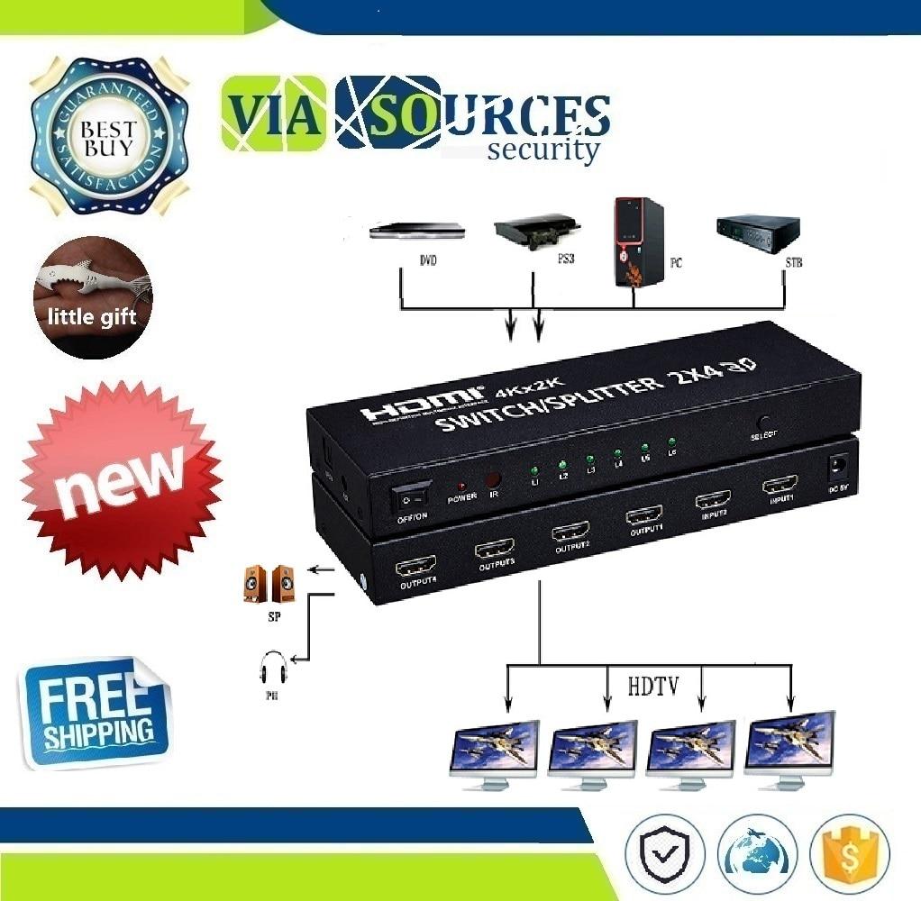 Worldwide delivery 2x4 hdmi splitter in NaBaRa Online