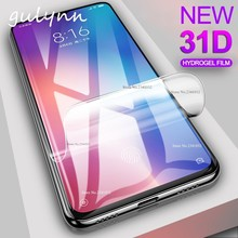 New 31D Full Protective Hydrogel Film For Xiaomi Redmi Note 7 6 5 K20 Pro 5A Screen Protector Mi 9 A2 Lite SE Cover