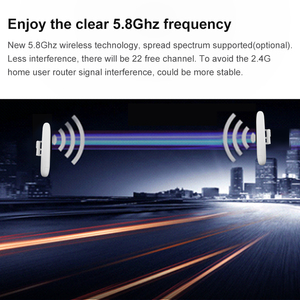 Image 5 - 2km QCA9344 wifi 범위 야외 무선 액세스 포인트 cpe 5ghz POE 전원 어댑터 300mbps 고전력 cpe 네트워크 라우터