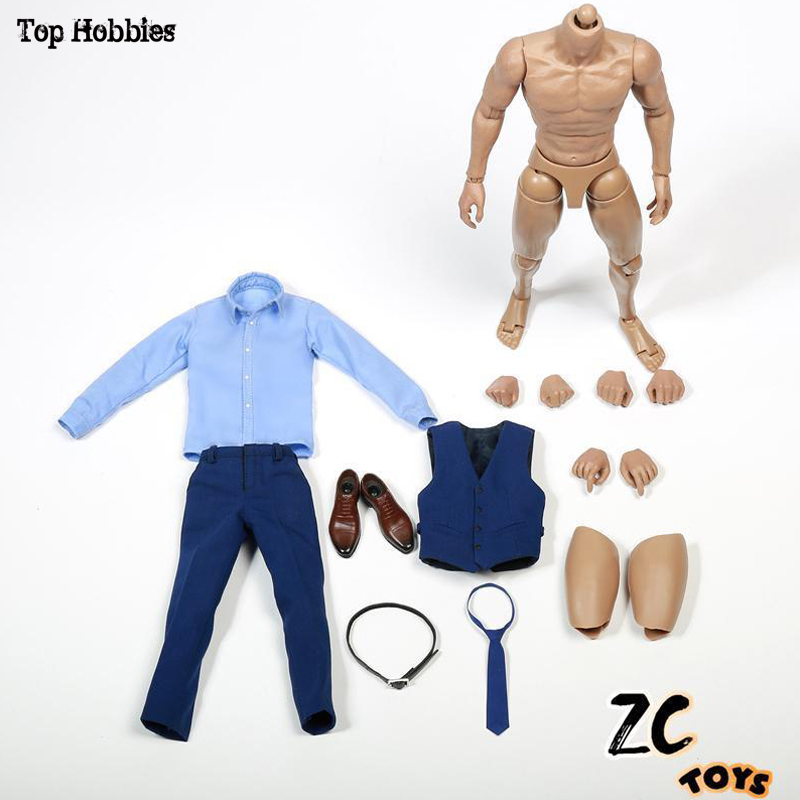 1 6 Scale Batman Vs Superman Lord Wayne Ben Affleck Head Sculpt ZCtoys Body Men s