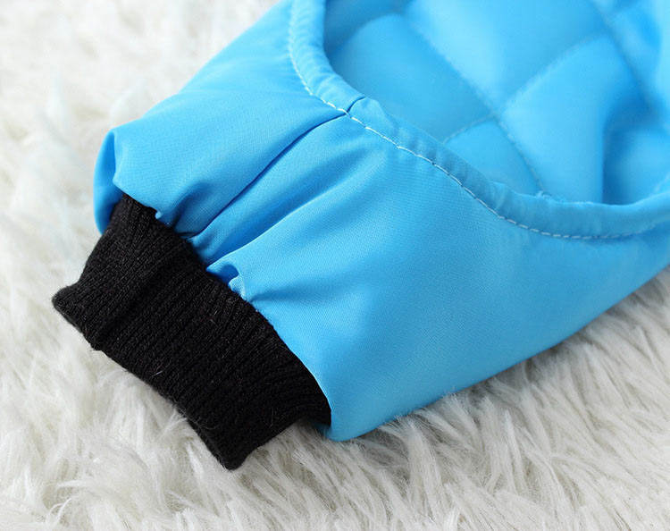 Waterproof Fashion Pet Clothes Large pocket Thick Pet Jumpsuit Coat With Hooded Windproof Winter Outdoor Cotton Pet Apparel XS-XXL11