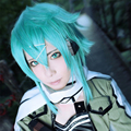 Sword Art Online Asada Shino Blue Cosplay Wig Synthetic Japanese Anime Heat Resistant Fiber Cos Costume Wigs