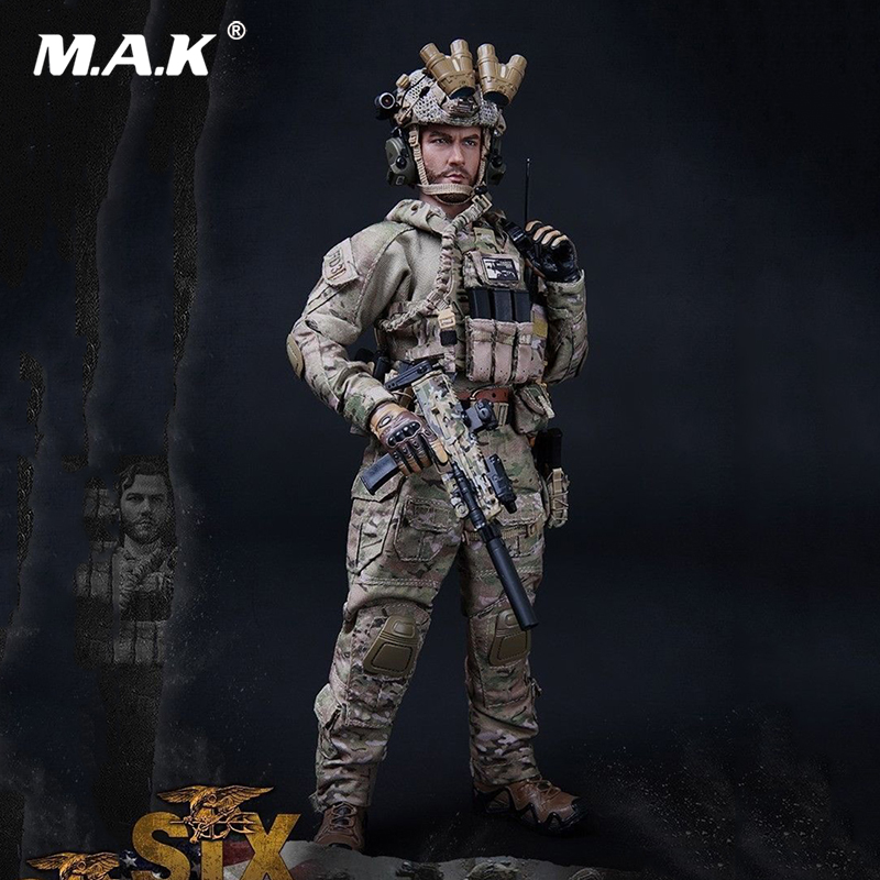 For Collectionmini times toys 1:6 Scale M010 US Army New Seal Team Six Solider Action Figure full set soldier doll toys 1 6 military scale action figures doll set super flexible 12action figure doll desert sniper soldier plastic model toys