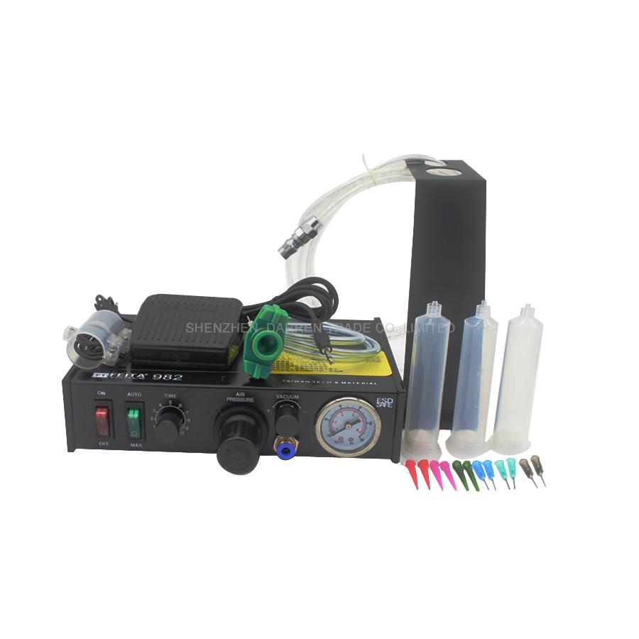 Semi-automatic Glue Dispenser Glue Dispenser machine Glue Dispenser Solder Paste Liquid Controller 1pcs ft 982 semi automatic glue dispenser glue dispenser machine glue dispenser solder paste liquid controller