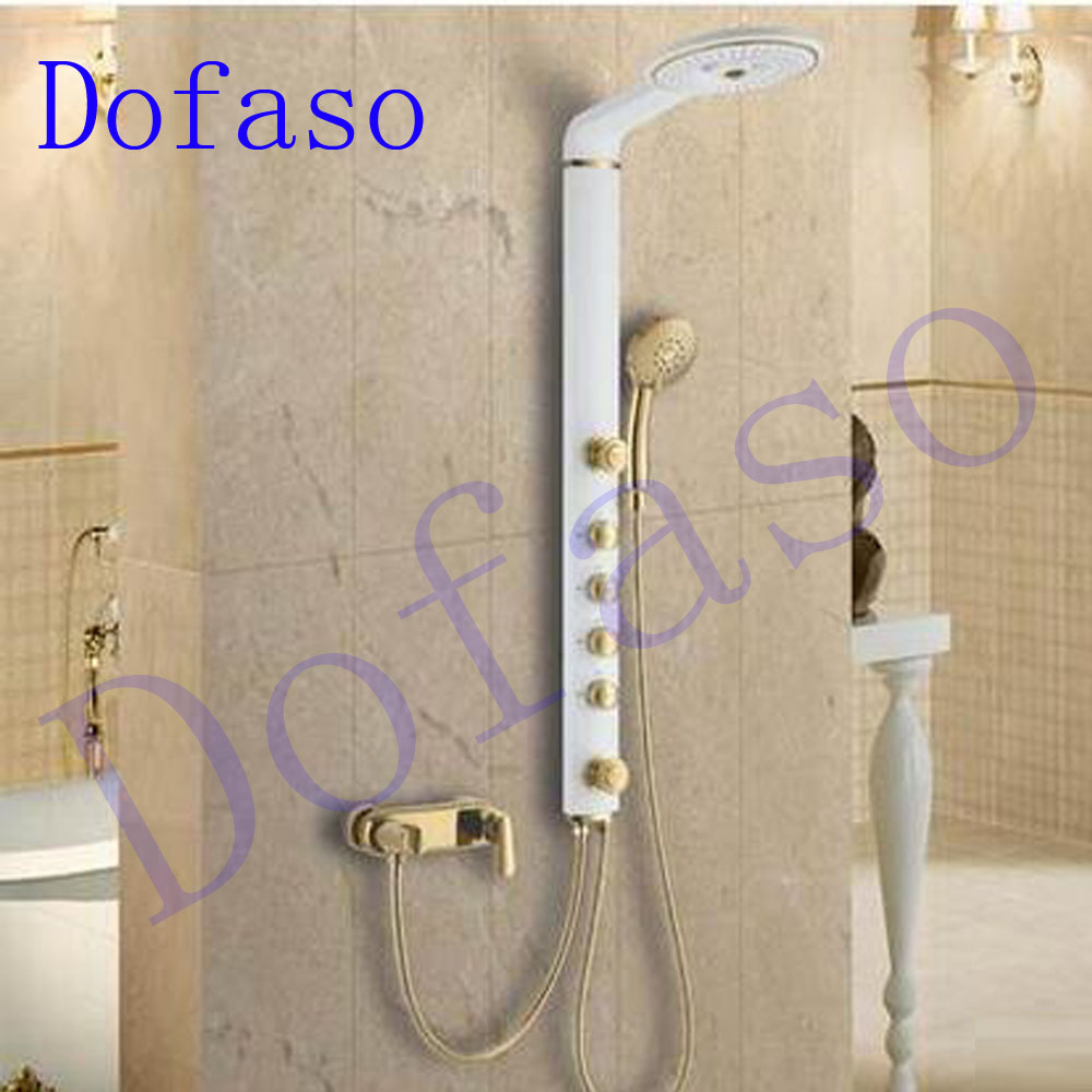 bathroom massage product shower panel panels installation systems